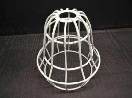 噴塑燈罩防爆燈罩金屬保護燈罩鋼絲燈罩