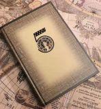 5年连用日记本笔记本彩凸烫金手账本
