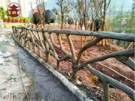 乐山水泥栏杆厂家,实木仿木纹栏杆定制厂家