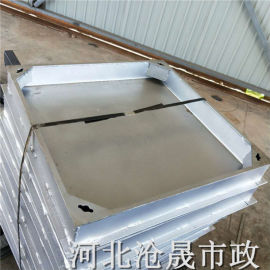 廊坊不锈钢井盖 方形600*600装饰井盖