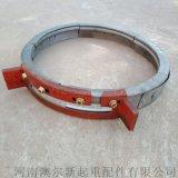 3T生铁导绳器  葫芦卷筒排绳器  钢丝绳导绳器