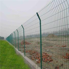 广西高速公路隔离栅浸塑护栏网圈地护栏网厂家