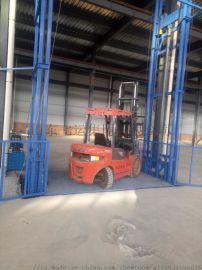 导轨式升降货梯厂房仓库货梯固定式升货降平台提升货梯