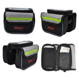 自行车头包触摸屏骑行手机包自行车装备导航车头包自行车配件包    品牌HoT ZonE 品名自行车手机包 车头包 货号  GBB14002-M