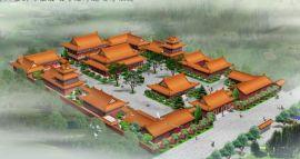 寺庙设计,寺院规划,庙宇建筑设计