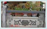 寺庙石雕栏杆 青石石雕护栏 花草石雕栏杆线雕