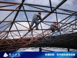 南海狮山防锈公司供应铁皮瓦防锈管道防锈棚架防锈施工队