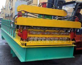 上海供应双层彩钢瓦成型设备、840/900双层彩钢瓦压型机