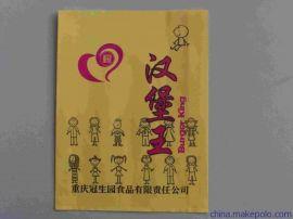 中产    厂家供应淋膜纸汉堡纸