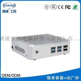研凌IBOX-N74010Y酷睿四代双核迷你主机支持同步异步双显