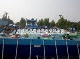 河北省夏季經營好項目1000平方支架游泳池