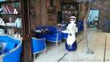 山東濰坊餐飲智慧機器人