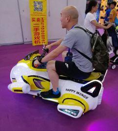 厂家直销户内外电动车快乐飞侠碰碰车儿童亲子电瓶车广场游乐设备