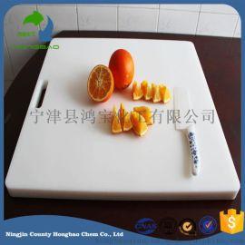 定制厨房聚乙烯切菜板 多规格可悬挂pe塑料砧板
