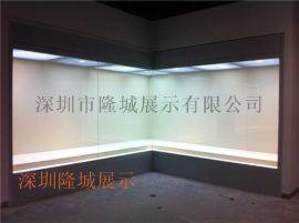 高档博物馆墙柜制作厂家、展示柜尺寸可设计订做