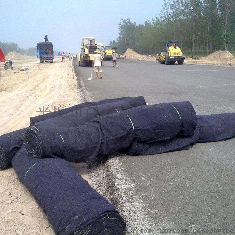 公路养护毛毡土工布混凝土保湿棉毡工地桥梁无纺布