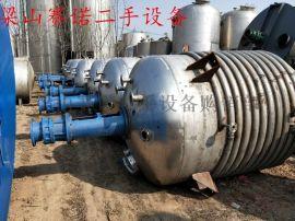 山东供应二手搪瓷反应釜,二手3吨5吨搪瓷反应釜