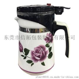 烫金金属陶瓷保温杯水贴纸 配套定制生产水转印加工