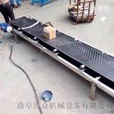 鋁型材質帆布帶皮帶輸送機防爆電機 組裝流水線