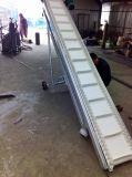 波状挡边爬坡输送机不锈钢防腐 包料输送机株洲