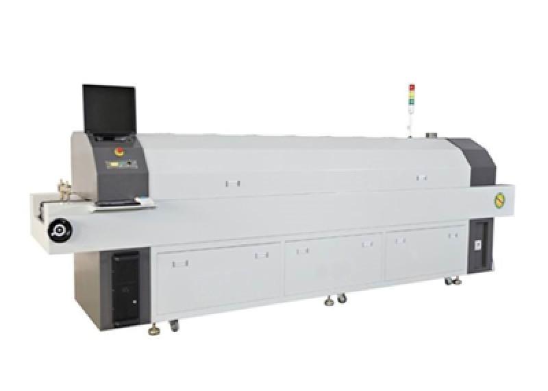SMT八溫區無鉛熱風迴流焊機