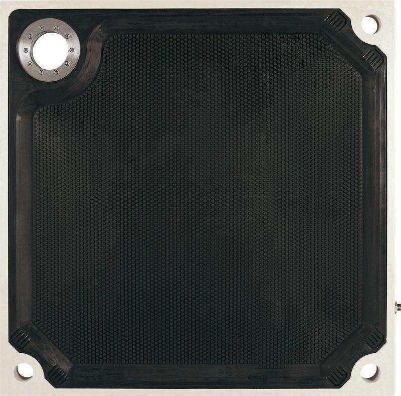 压滤机滤板 高效过滤压榨设备 嵌入式隔膜滤板