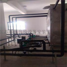 西客运站15吨太阳能热水工程6台5匹奥栋空气能主机