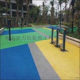 供应海口幼儿园弹性地板,海南拼图橡胶地板