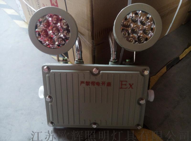 AC220v消防应急防爆灯两头BFC8185,BFC8185国标双头应急灯