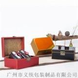 義統包裝初心兩小陶罐茶葉包裝禮盒 廣州包裝定製廠家