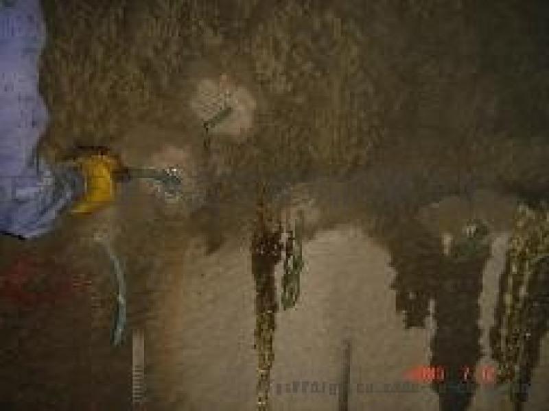 济南市地下车库工程漏漏水补漏