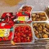 海鮮盒式真空氣調包裝機,龍蝦蛤蜊真空氣調保鮮包裝機