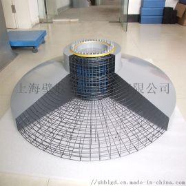 风车基础底座模型工艺品加工新能源产品