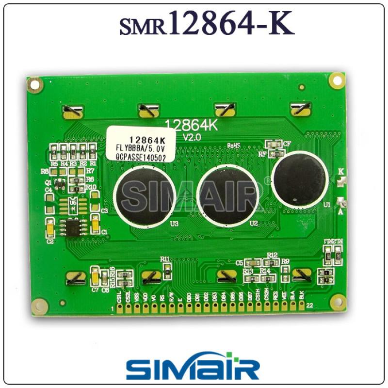12864液晶屏 工业标准尺寸 显示屏 点阵模块