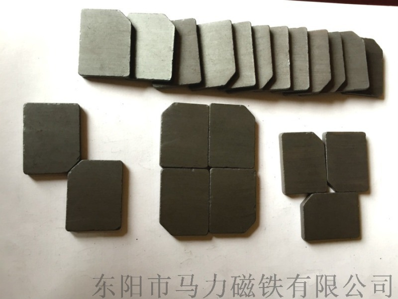 高性能铁氧体永磁 强力磁铁 方块形强磁铁销售