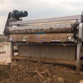 高质量污泥压滤机定制 沙场带式泥浆压泥机报价