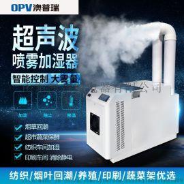 超声波加湿器 降尘喷雾保鲜喷涂食用菌 工业加湿器