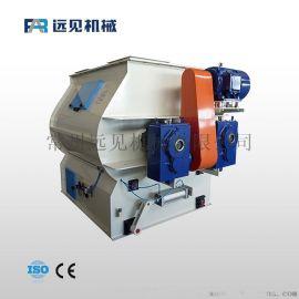 供应双轴饲料混合机械 多桨转子搅拌机 饲料混合设备
