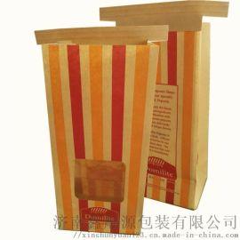 開窗牛皮紙淋膜打包紙袋生產廠家