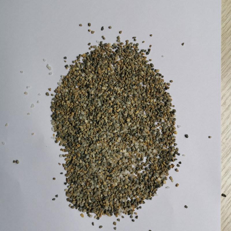 喷砂石英砂厂家_喷砂除锈石英砂价格_批发销售。