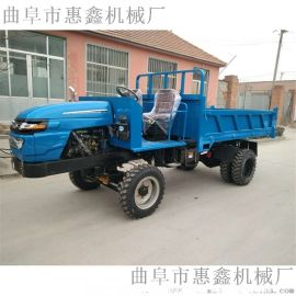 拉钢筋平板运输四不像/矿用四轮车25马力