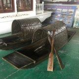 现货出售杭州景区手划木船仿古乌篷船观光游船