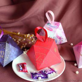 新款喜糖盒婚庆用品纸盒欧式结婚糖盒