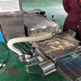 加工定制全自动上浆机,面包虾专用上浆机