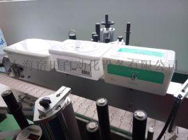 湿巾盒双面贴标机 全自动湿巾盒两面贴标机