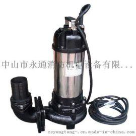 台湾博士多JK-30无堵塞3寸立式潜水泵