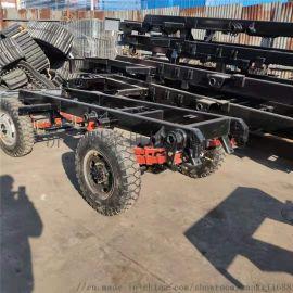 橡胶运输货物履带底盘 山东囯聚小型履带底盘