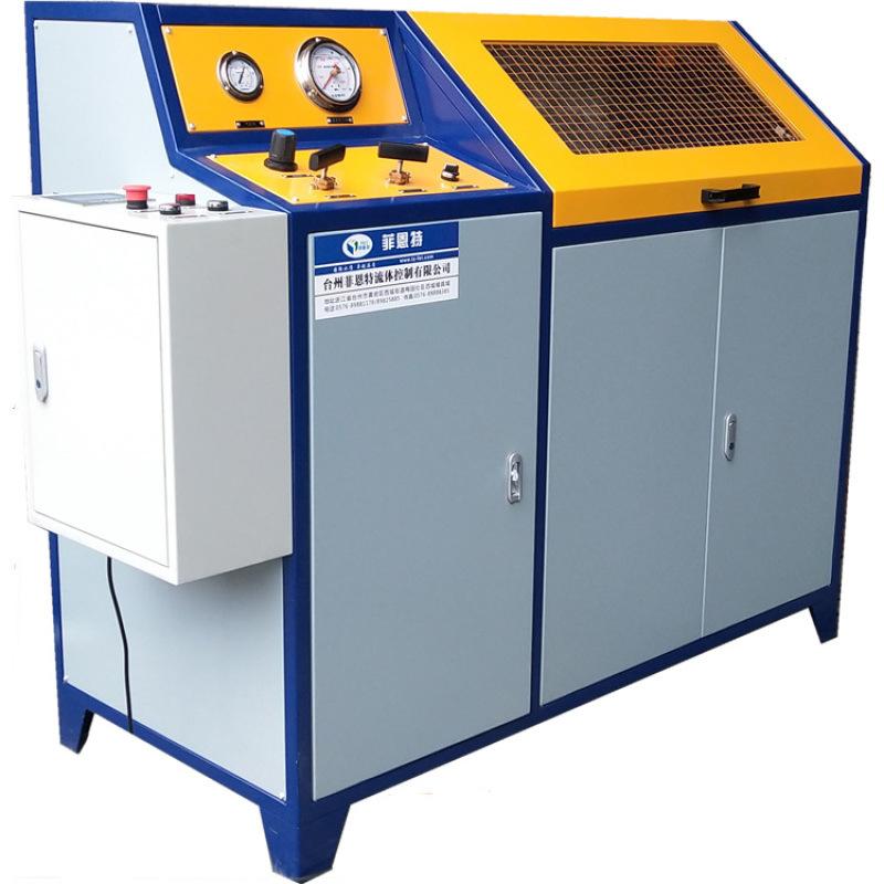 高压管件静压水压爆破测试台 半自动液压实验台