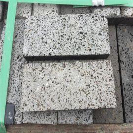 石茂供应火山石板 汗蒸房墙体装饰用 烧烤用火山石板