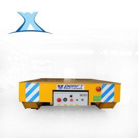 电动轨道运输平板车蓄电池转弯地平车电动托盘搬运车价格